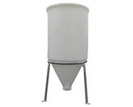 280 Litre Storage Hopper - Centre Discharge